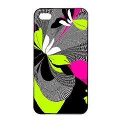 Abstract Illustration Nameless Fantasy Apple Iphone 4/4s Seamless Case (black)