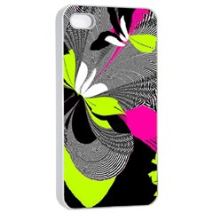 Abstract Illustration Nameless Fantasy Apple Iphone 4/4s Seamless Case (white)