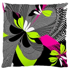 Abstract Illustration Nameless Fantasy Large Cushion Case (one Side)