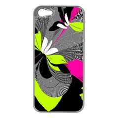 Abstract Illustration Nameless Fantasy Apple Iphone 5 Case (silver)