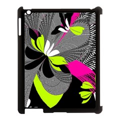 Abstract Illustration Nameless Fantasy Apple iPad 3/4 Case (Black)