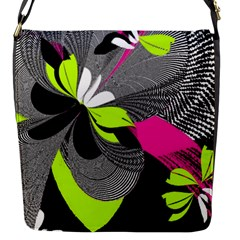 Abstract Illustration Nameless Fantasy Flap Messenger Bag (s)