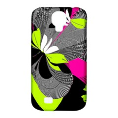Abstract Illustration Nameless Fantasy Samsung Galaxy S4 Classic Hardshell Case (PC+Silicone)