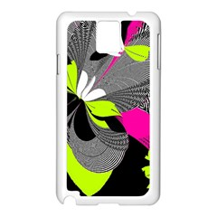 Abstract Illustration Nameless Fantasy Samsung Galaxy Note 3 N9005 Case (white)