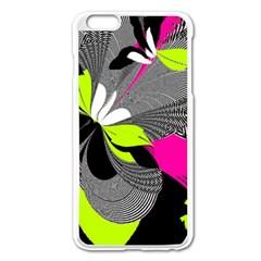 Abstract Illustration Nameless Fantasy Apple iPhone 6 Plus/6S Plus Enamel White Case