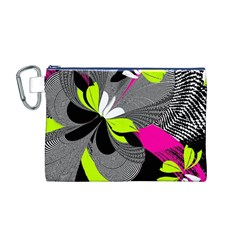 Abstract Illustration Nameless Fantasy Canvas Cosmetic Bag (M)