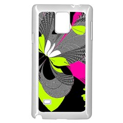 Abstract Illustration Nameless Fantasy Samsung Galaxy Note 4 Case (White)