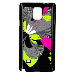 Abstract Illustration Nameless Fantasy Samsung Galaxy Note 4 Case (Black)