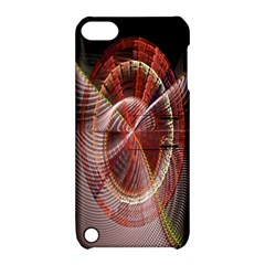 Fractal Fabric Ball Isolated On Black Background Apple iPod Touch 5 Hardshell Case with Stand
