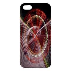 Fractal Fabric Ball Isolated On Black Background Apple Iphone 5 Premium Hardshell Case