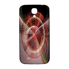 Fractal Fabric Ball Isolated On Black Background Samsung Galaxy S4 I9500/i9505  Hardshell Back Case