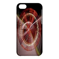 Fractal Fabric Ball Isolated On Black Background Apple Iphone 5c Hardshell Case