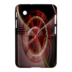 Fractal Fabric Ball Isolated On Black Background Samsung Galaxy Tab 2 (7 ) P3100 Hardshell Case