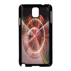 Fractal Fabric Ball Isolated On Black Background Samsung Galaxy Note 3 Neo Hardshell Case (black)