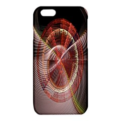 Fractal Fabric Ball Isolated On Black Background iPhone 6/6S TPU Case
