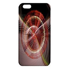 Fractal Fabric Ball Isolated On Black Background Iphone 6 Plus/6s Plus Tpu Case