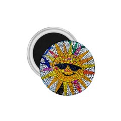 Sun From Mosaic Background 1.75  Magnets