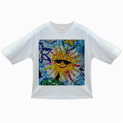 Sun From Mosaic Background Infant/toddler T Shirts