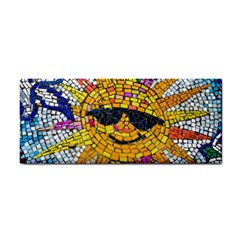 Sun From Mosaic Background Cosmetic Storage Cases
