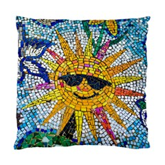 Sun From Mosaic Background Standard Cushion Case (One Side)
