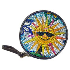 Sun From Mosaic Background Classic 20-CD Wallets