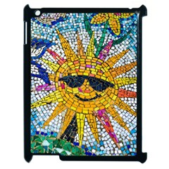 Sun From Mosaic Background Apple Ipad 2 Case (black)