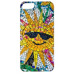 Sun From Mosaic Background Apple Iphone 5 Classic Hardshell Case