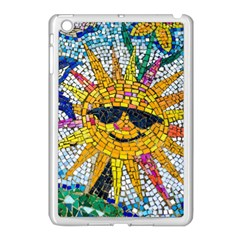 Sun From Mosaic Background Apple Ipad Mini Case (white)