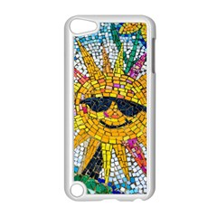 Sun From Mosaic Background Apple iPod Touch 5 Case (White)