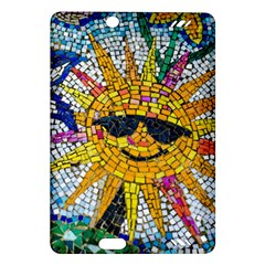 Sun From Mosaic Background Amazon Kindle Fire Hd (2013) Hardshell Case