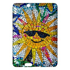 Sun From Mosaic Background Kindle Fire HDX Hardshell Case