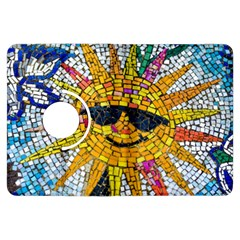 Sun From Mosaic Background Kindle Fire HDX Flip 360 Case