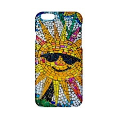 Sun From Mosaic Background Apple Iphone 6/6s Hardshell Case