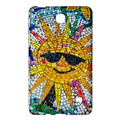 Sun From Mosaic Background Samsung Galaxy Tab 4 (7 ) Hardshell Case