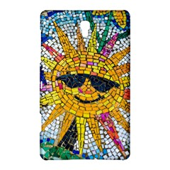 Sun From Mosaic Background Samsung Galaxy Tab S (8 4 ) Hardshell Case