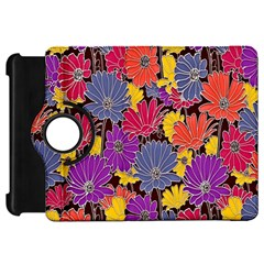 Colorful Floral Pattern Background Kindle Fire Hd 7