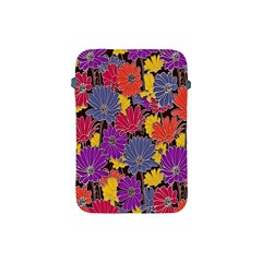 Colorful Floral Pattern Background Apple iPad Mini Protective Soft Cases