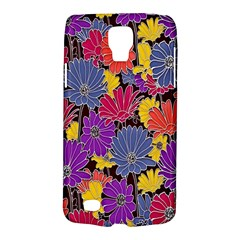 Colorful Floral Pattern Background Galaxy S4 Active