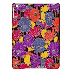 Colorful Floral Pattern Background Ipad Air Hardshell Cases