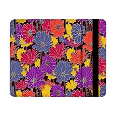 Colorful Floral Pattern Background Samsung Galaxy Tab Pro 8.4  Flip Case