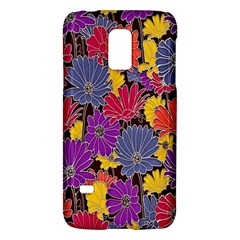 Colorful Floral Pattern Background Galaxy S5 Mini