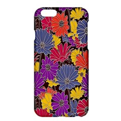 Colorful Floral Pattern Background Apple Iphone 6 Plus/6s Plus Hardshell Case