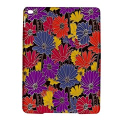Colorful Floral Pattern Background iPad Air 2 Hardshell Cases