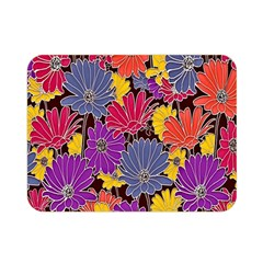 Colorful Floral Pattern Background Double Sided Flano Blanket (Mini)