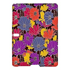 Colorful Floral Pattern Background Samsung Galaxy Tab S (10.5 ) Hardshell Case