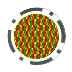 Colorful Wooden Background Pattern Poker Chip Card Guard