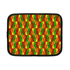 Colorful Wooden Background Pattern Netbook Case (small)