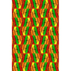 Colorful Wooden Background Pattern 5 5  X 8 5  Notebooks