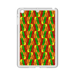 Colorful Wooden Background Pattern iPad Mini 2 Enamel Coated Cases