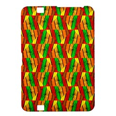Colorful Wooden Background Pattern Kindle Fire HD 8.9